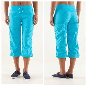 Lululemon Studio Crop Pants Spry Blue